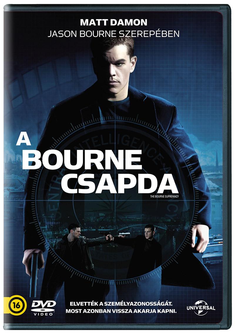 A Bourne-csapda DVD