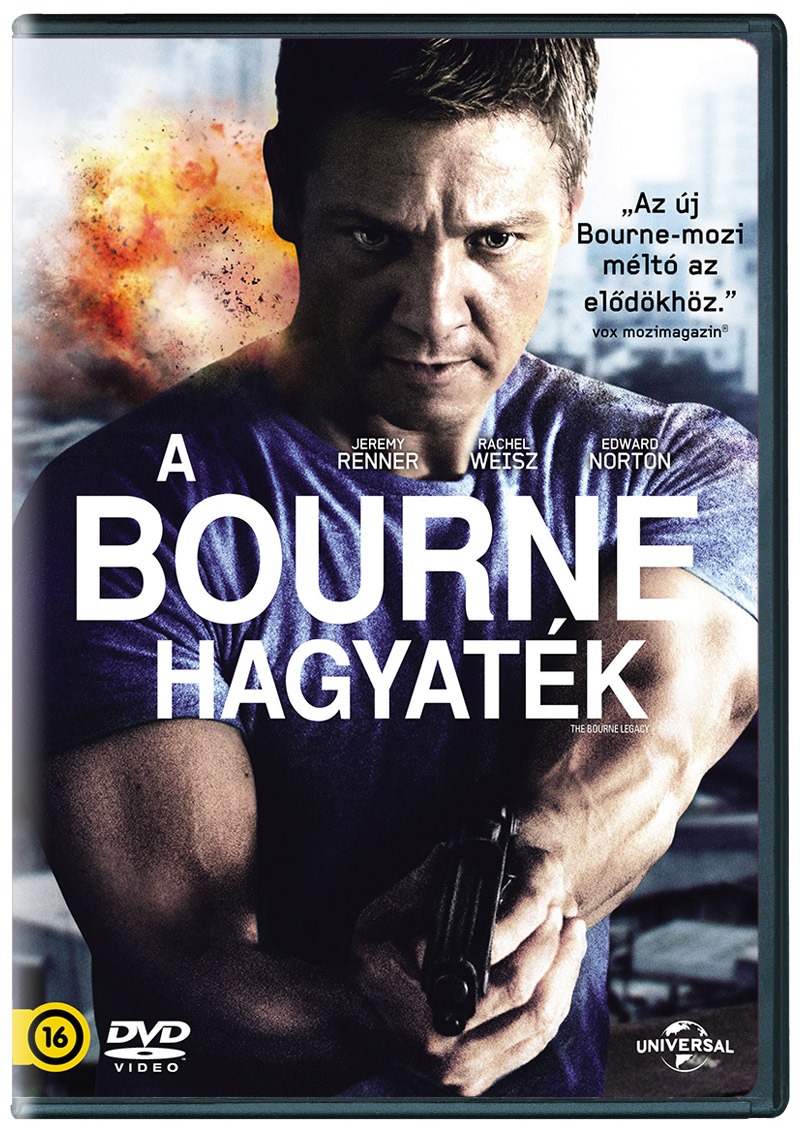 A Bourne hagyat�k DVD