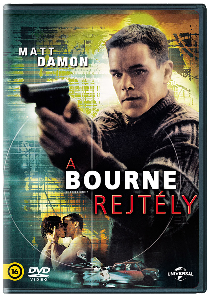 A Bourne-rejt�ly DVD