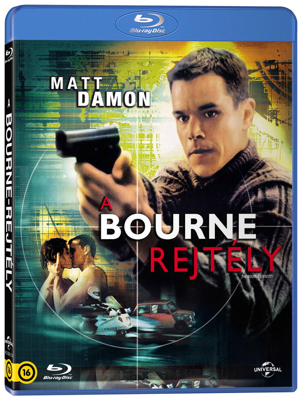 A Bourne-rejtély Blu-ray