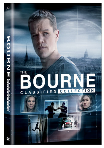 A Bourne-rejtély DVD