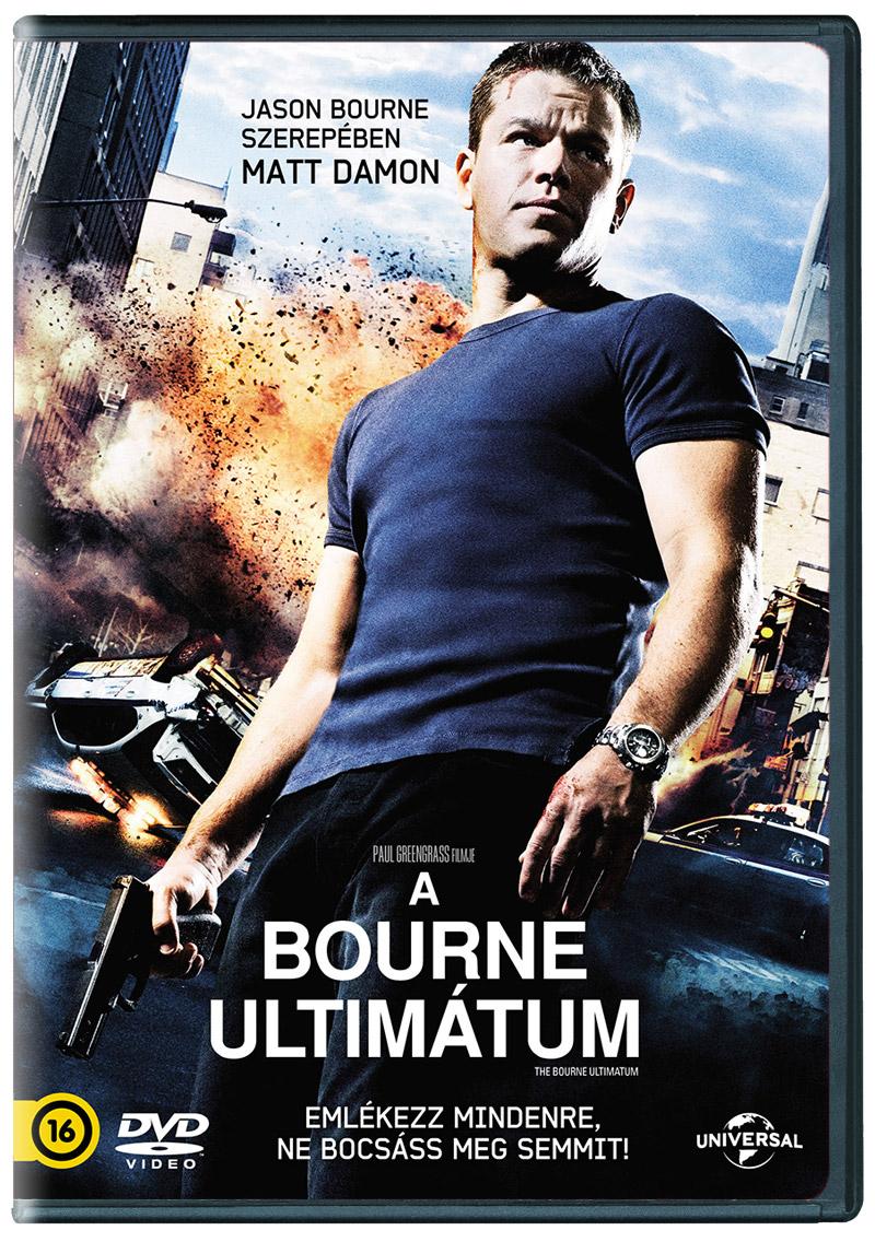 A Bourne-ultim�tum DVD
