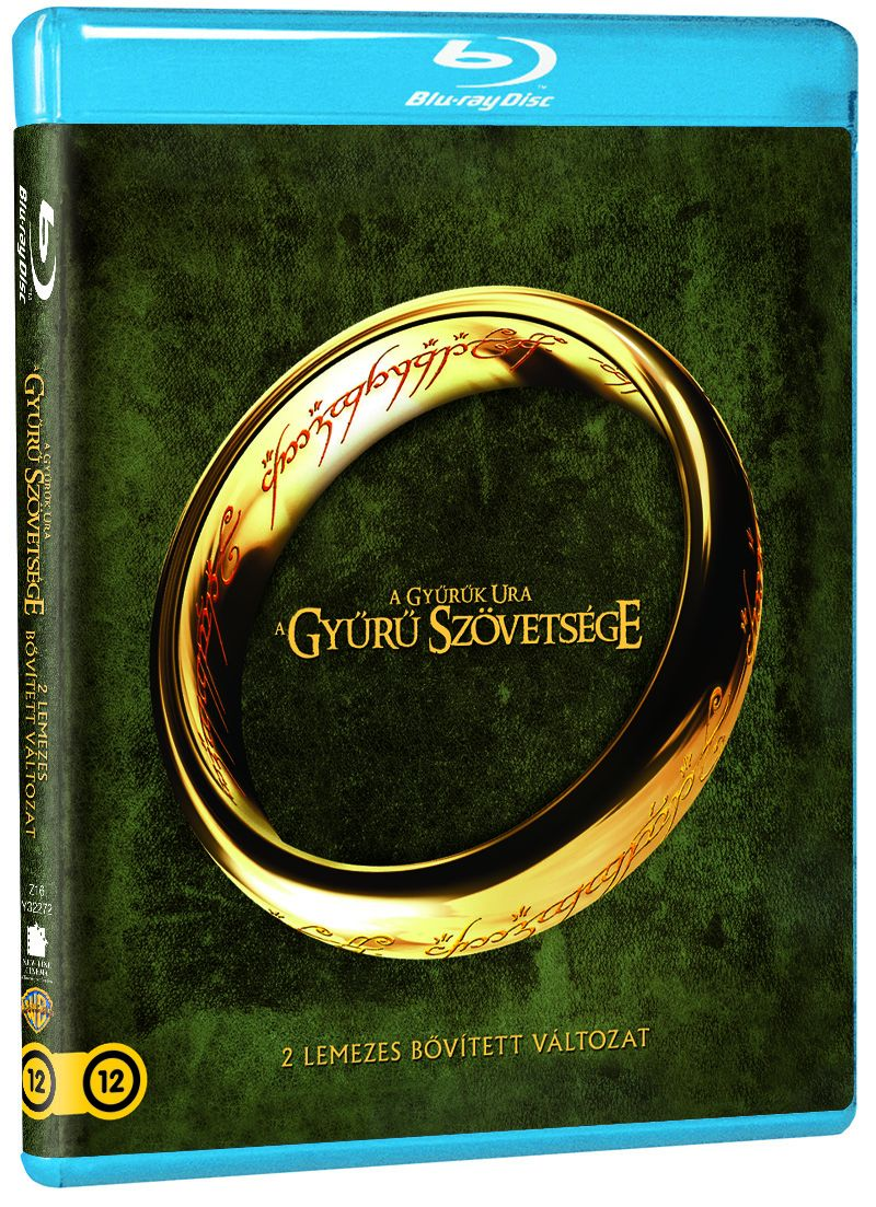 A Gyűrűk Ura - A Gyűrű Szövetsége (2 Blu-ray) - Bővített változat Blu-ray