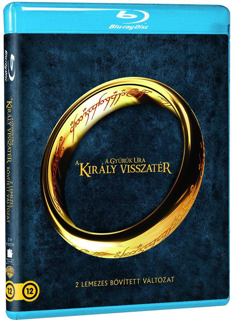 A Gyűrűk Ura - A Király visszatér (2 Blu-ray) - Bővített kiadás - Magyar felirattal Blu-ray