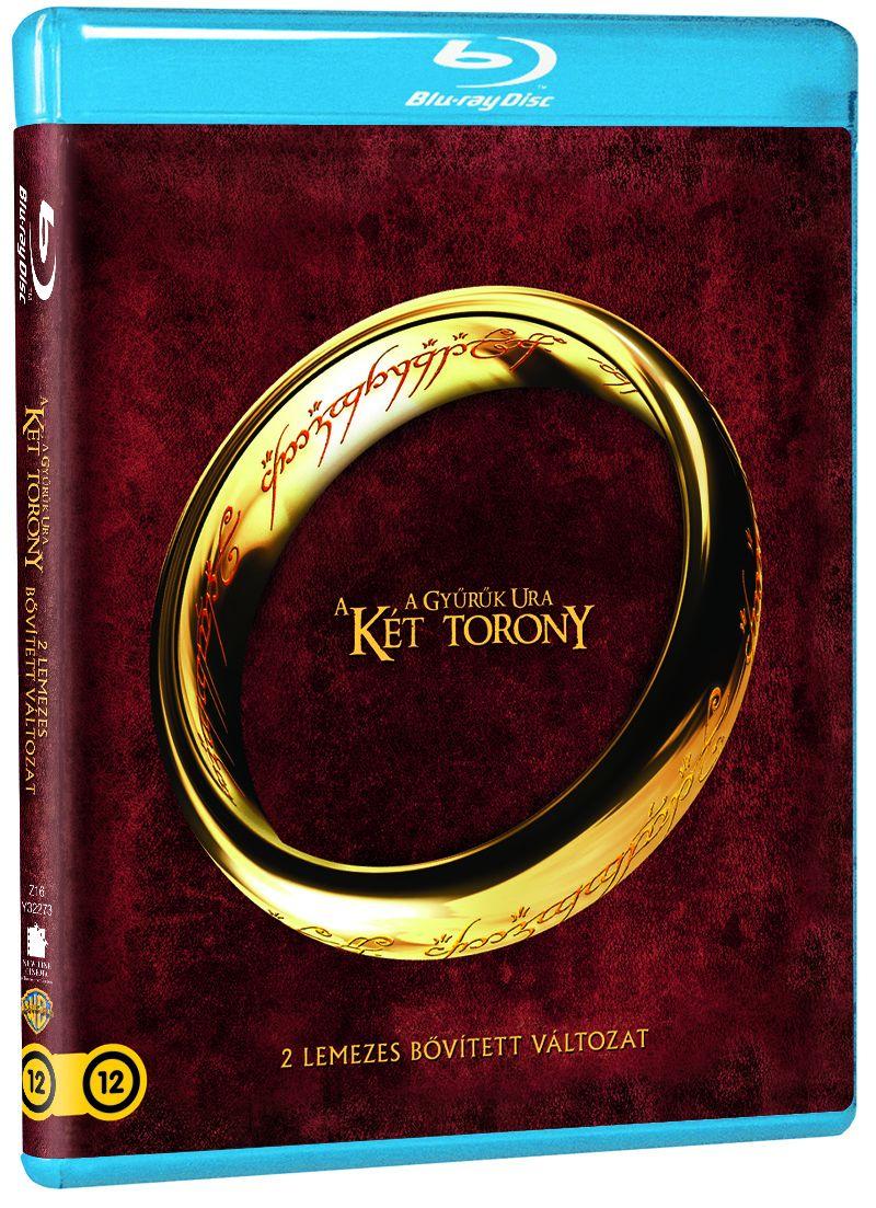 A Gyűrűk Ura - A két torony (2 Blu-ray) - Bővített kiadás - Magyar felirattal Blu-ray
