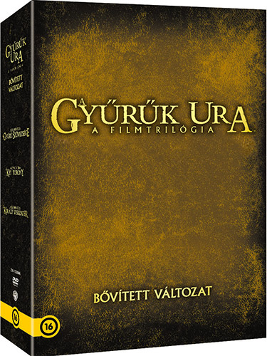 A Gy�r�k ura: A Filmtril�gia (6 DVD) - b�v�tett v�ltozat DVD