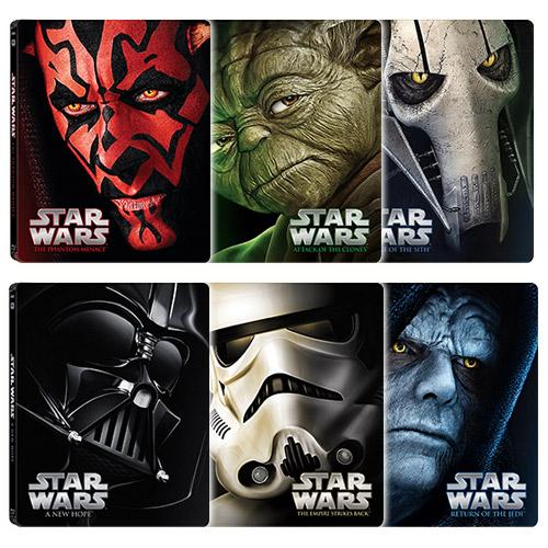 A Jedi visszatér Blu-ray