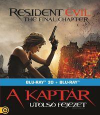A Kaptár - Utolsó fejezet   - limitált, fémdobozos változat (steelbook) 2D és 3D Blu-ray
