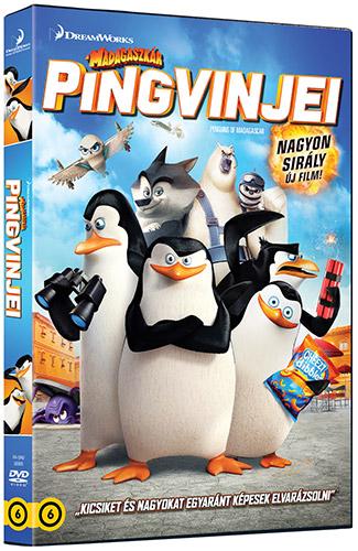A Madagaszk�r pingvinjei DVD