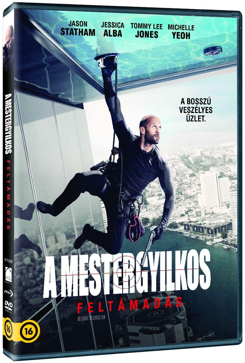 A Mestergyilkos: Feltámadás DVD
