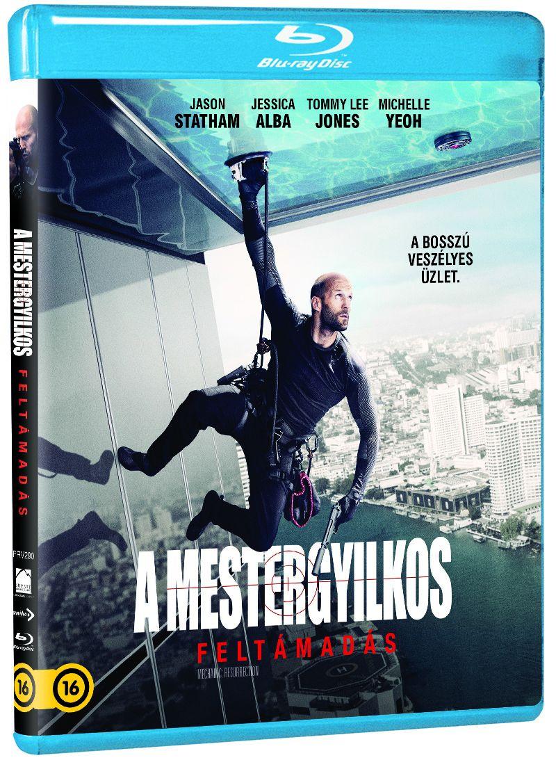 A Mestergyilkos: Feltámadás Blu-ray