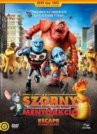 A Szörny mentőakció DVD