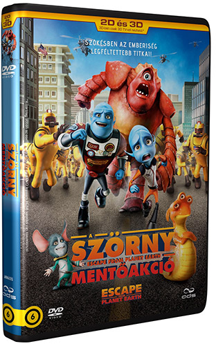 A Sz�rny ment�akci� (3D �s 2D DVD) DVD