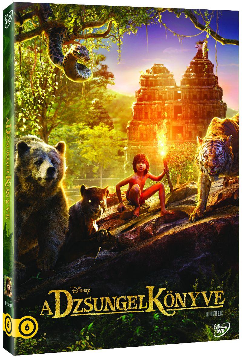 A dzsungel k�nyve - Limit�lt O-ring bor�t�val DVD