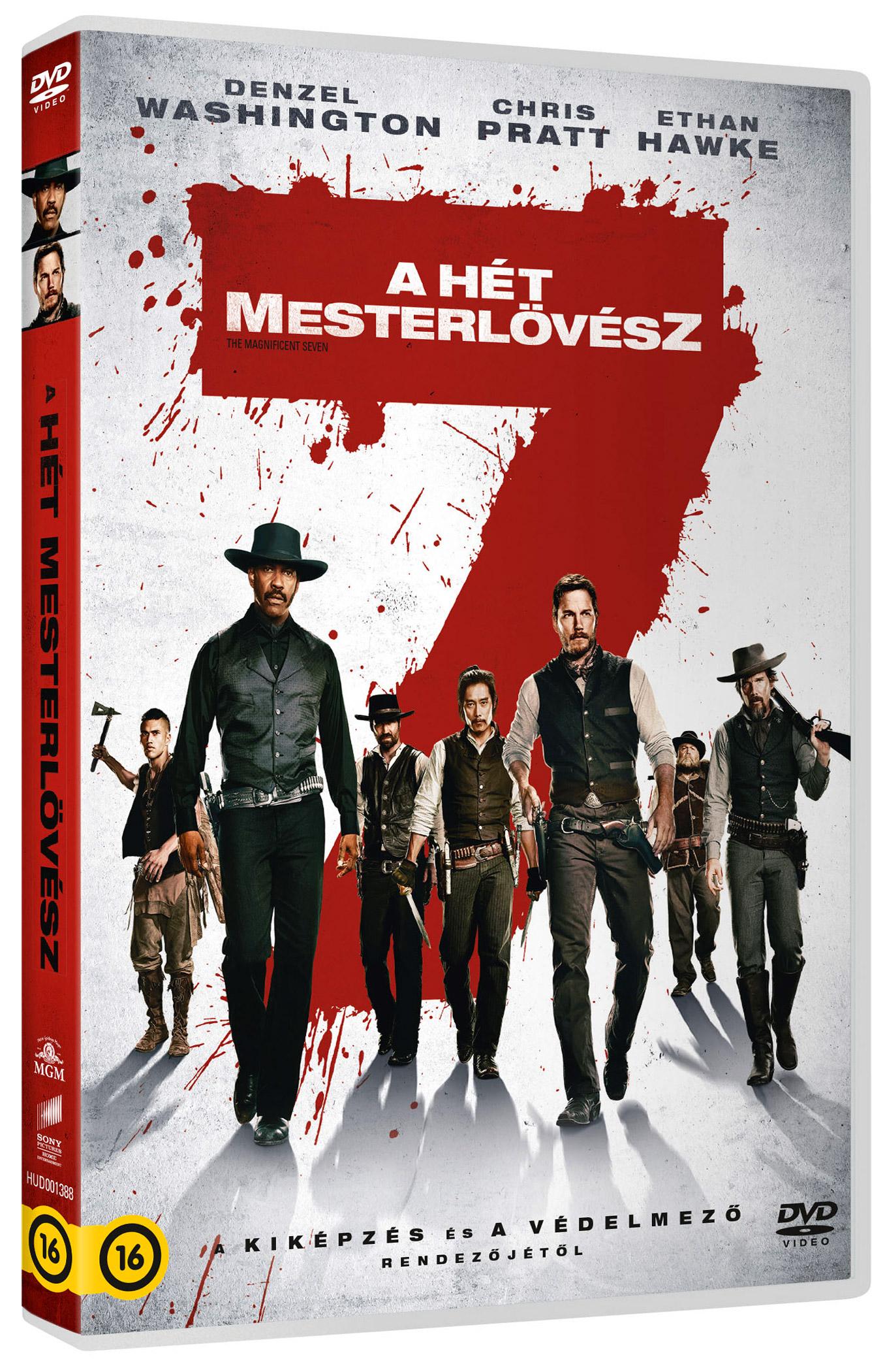 A hét mesterlövész (2016) DVD