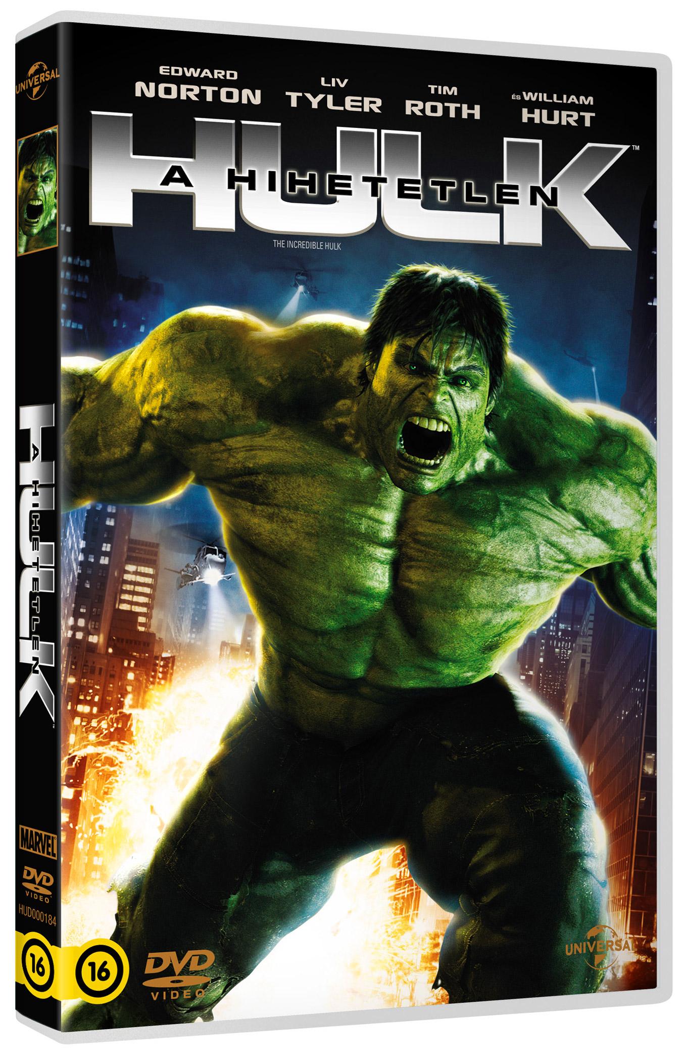 A hihetetlen Hulk DVD
