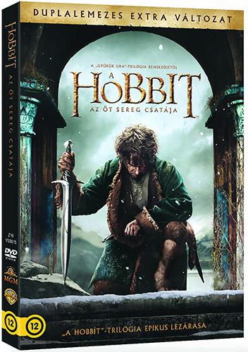 A hobbit: Az �t sereg csat�ja (2 DVD) - Extra kiad�s DVD