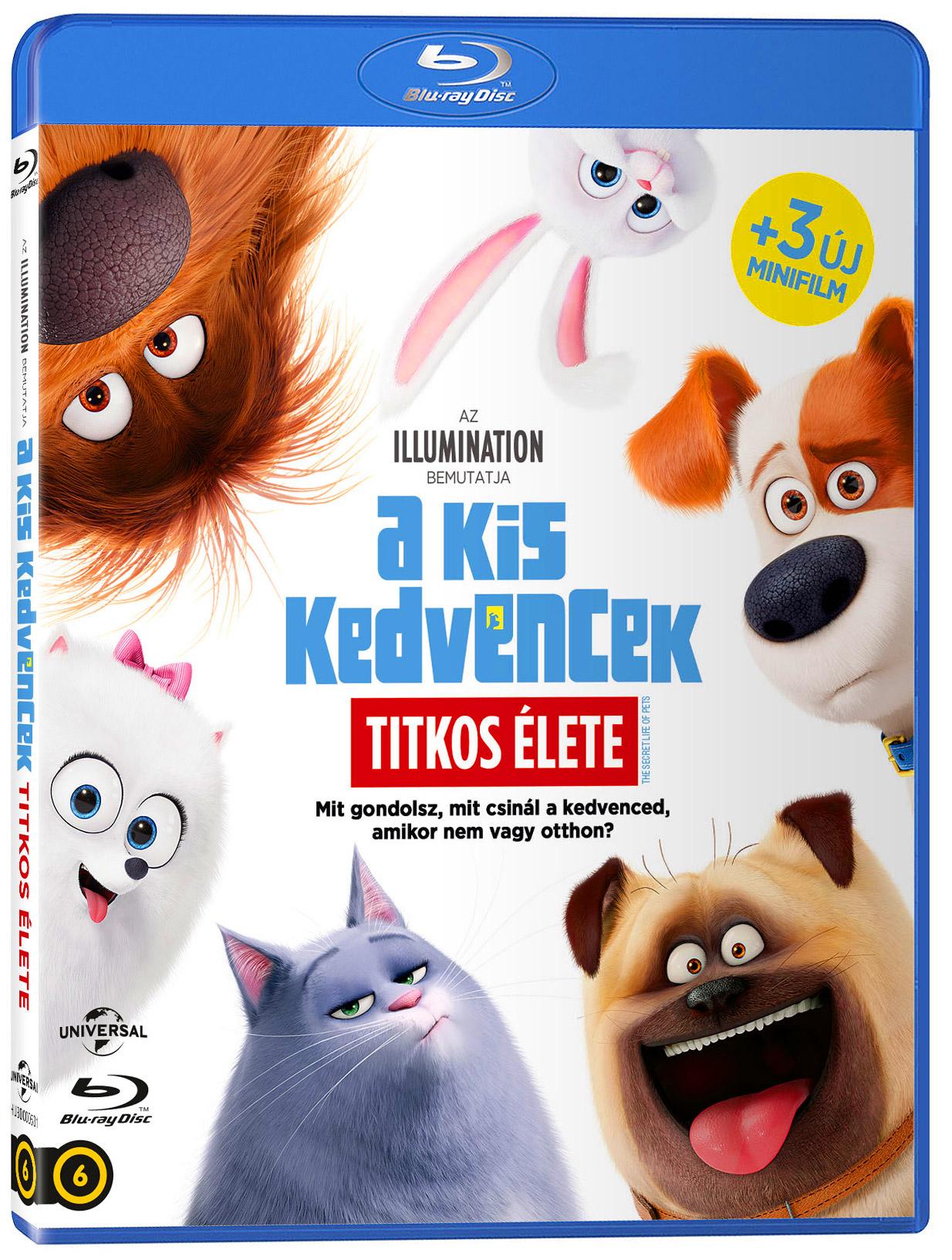 A kis kedvencek titkos élete Blu-ray