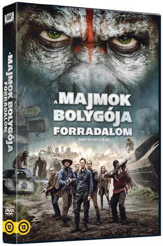 A majmok bolyg�ja - Forradalom DVD