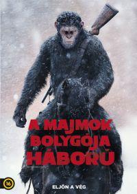 A majmok bolygója - Háború DVD
