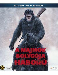 A majmok bolygója - Háború 2D és 3D Blu-ray