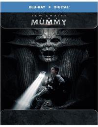 A múmia (2017)  - limitált, fémdobozos változat (steelbook) 2D és 3D Blu-ray