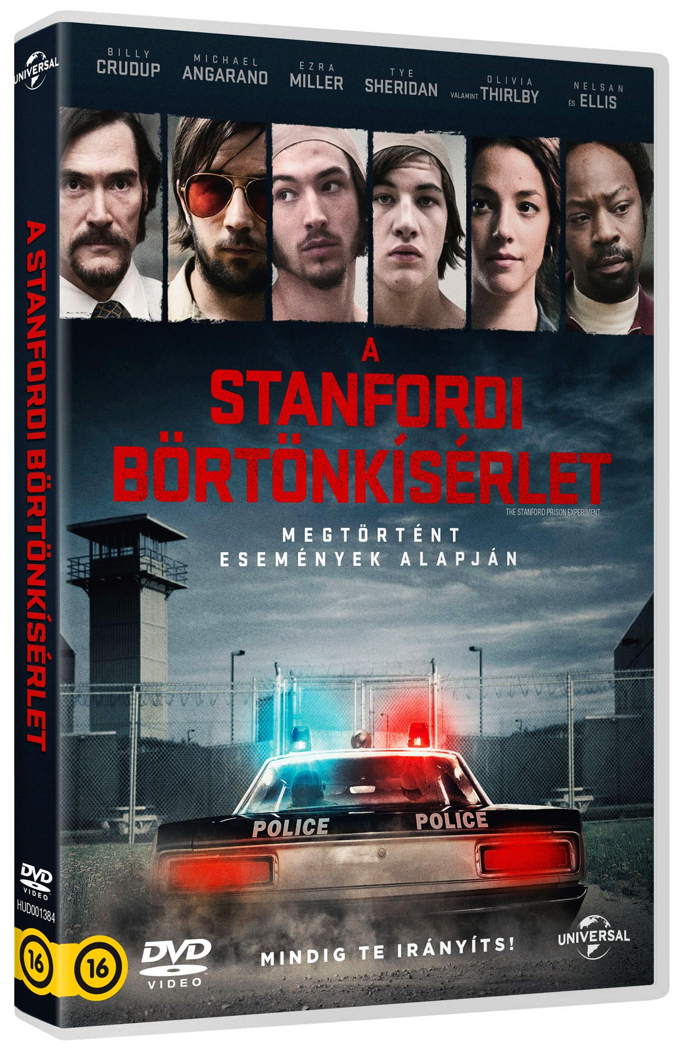 A stanfordi börtönkísérlet DVD
