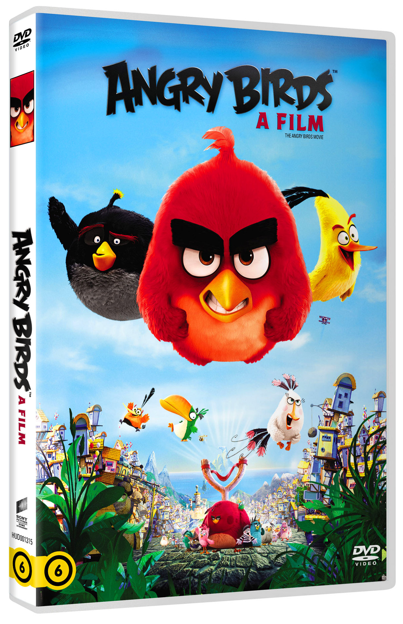Angry Birds: A film DVD