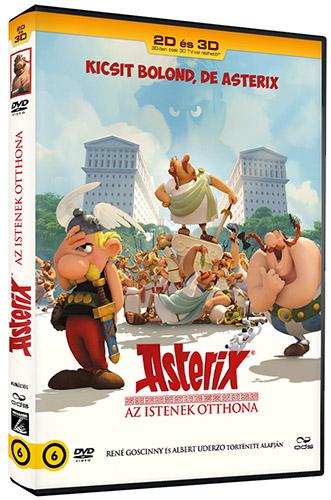 Asterix - Az Istenek otthona (3D �s 2D DVD) DVD