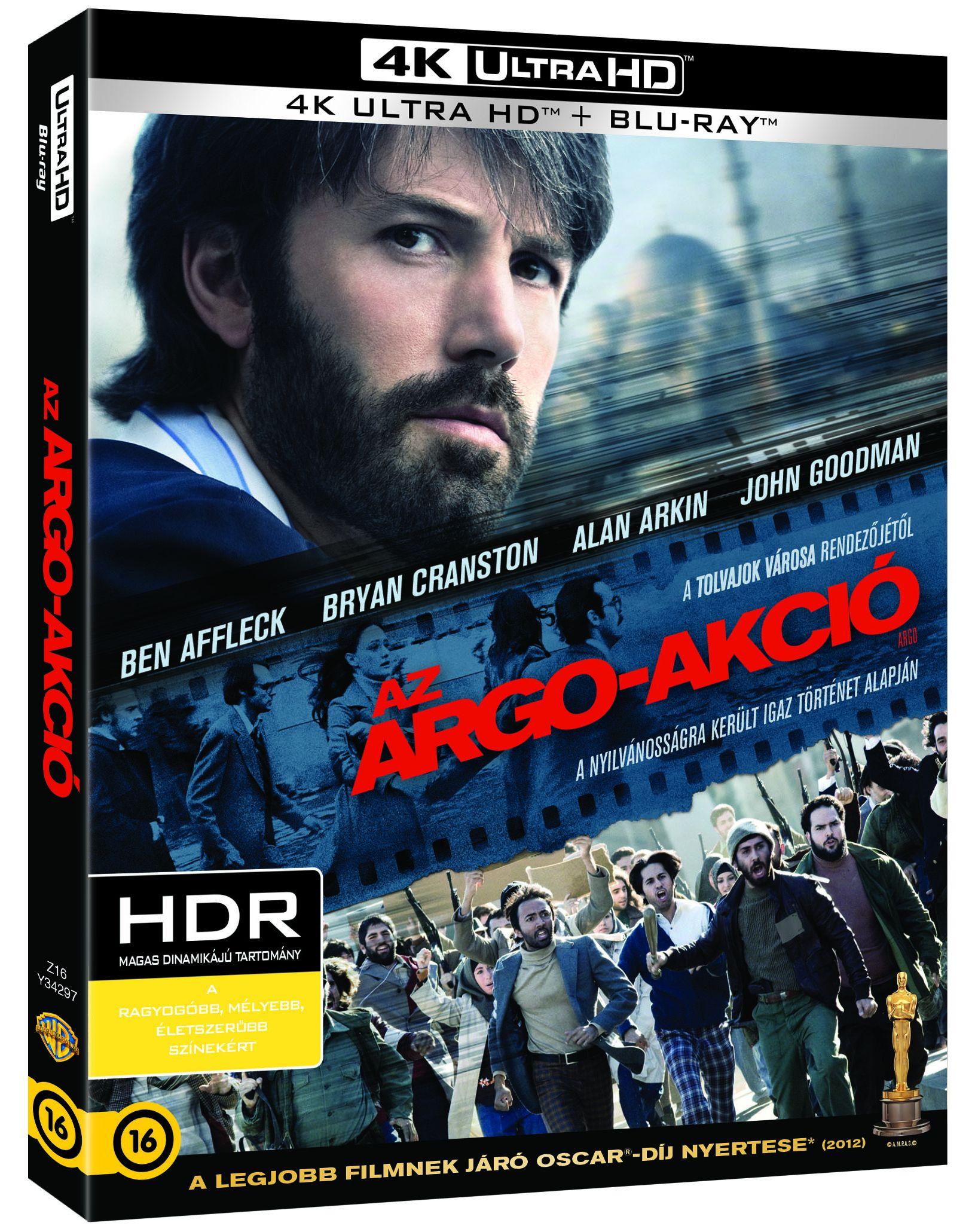 Az Argo-akció (4K Blu-ray + Blu-ray) Blu-ray