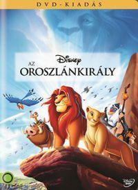 Az oroszlánkirály DVD