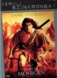 Az utolsó mohikán DVD