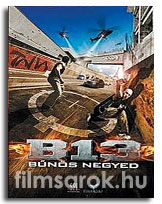B13 - A bűnös negyed DVD