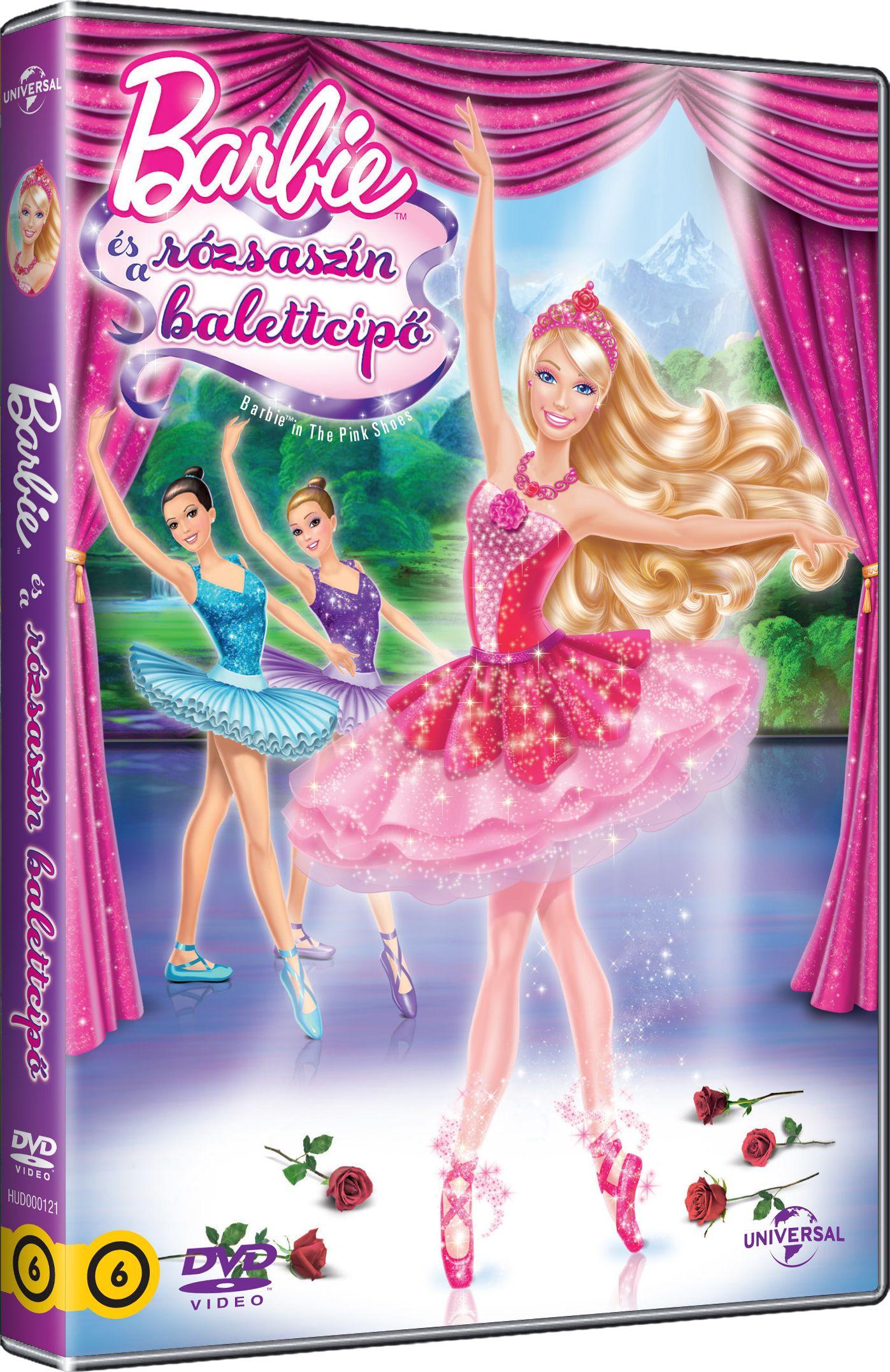 Barbie és a rózsaszín balettcipő DVD