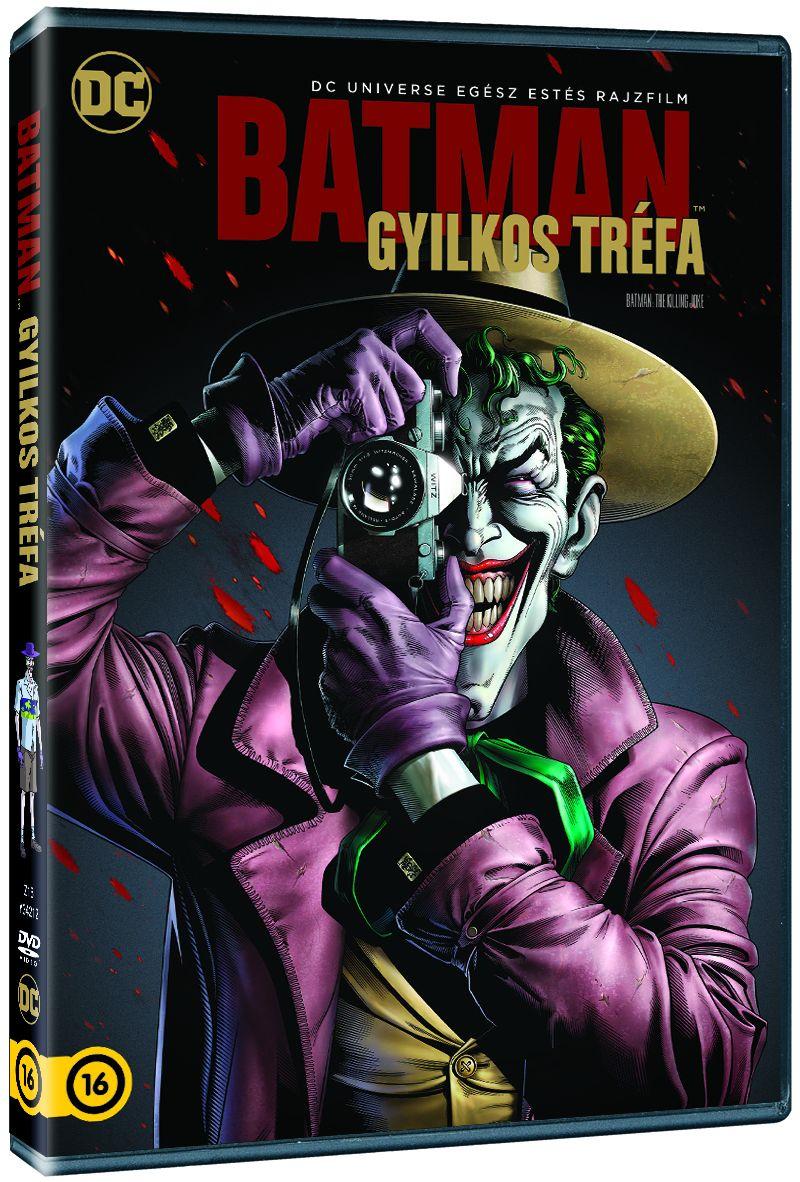 Batman: Gyilkos tr�fa DVD