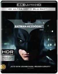 Batman - Kezdődik (4K Ultra HD (UHD) + BD + bónusz BD) Blu-ray