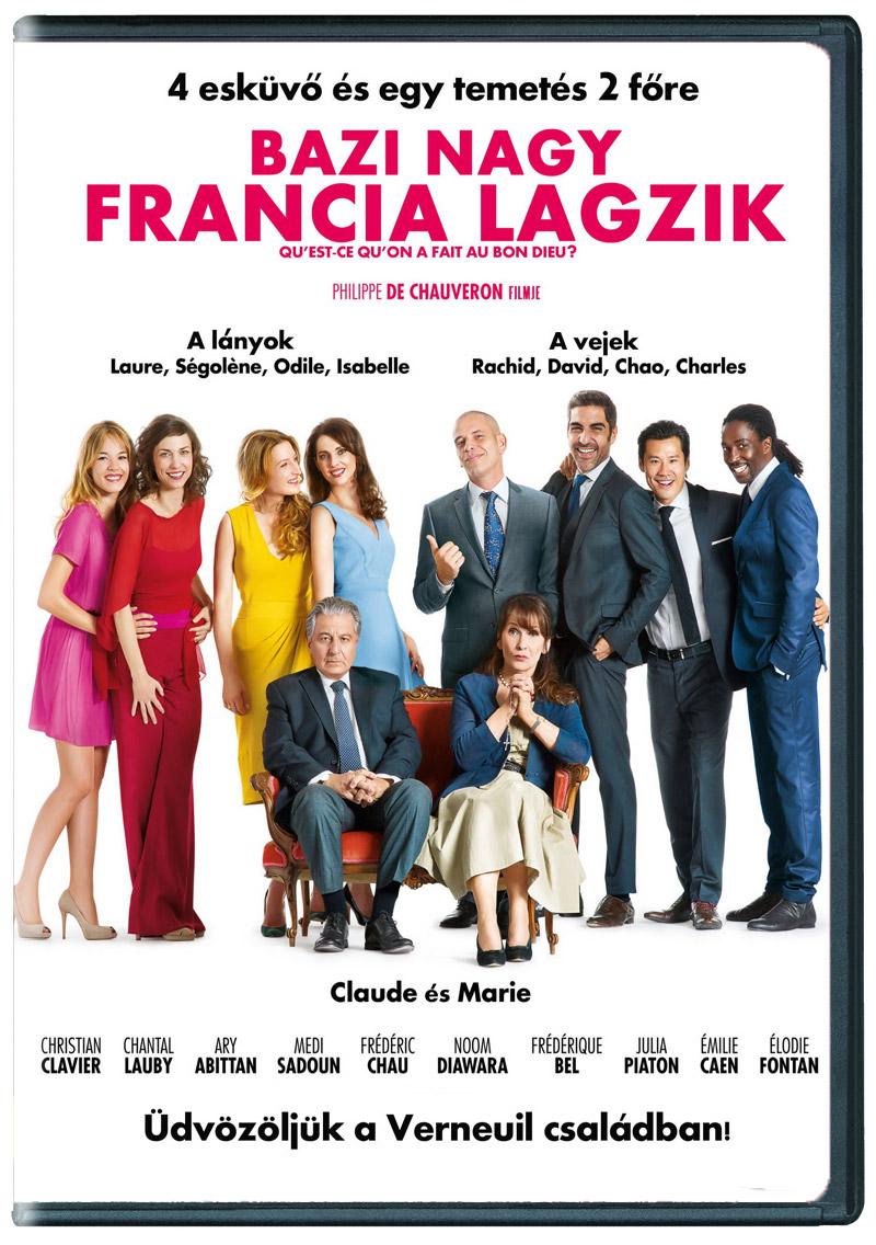 Bazi nagy francia lagzik DVD