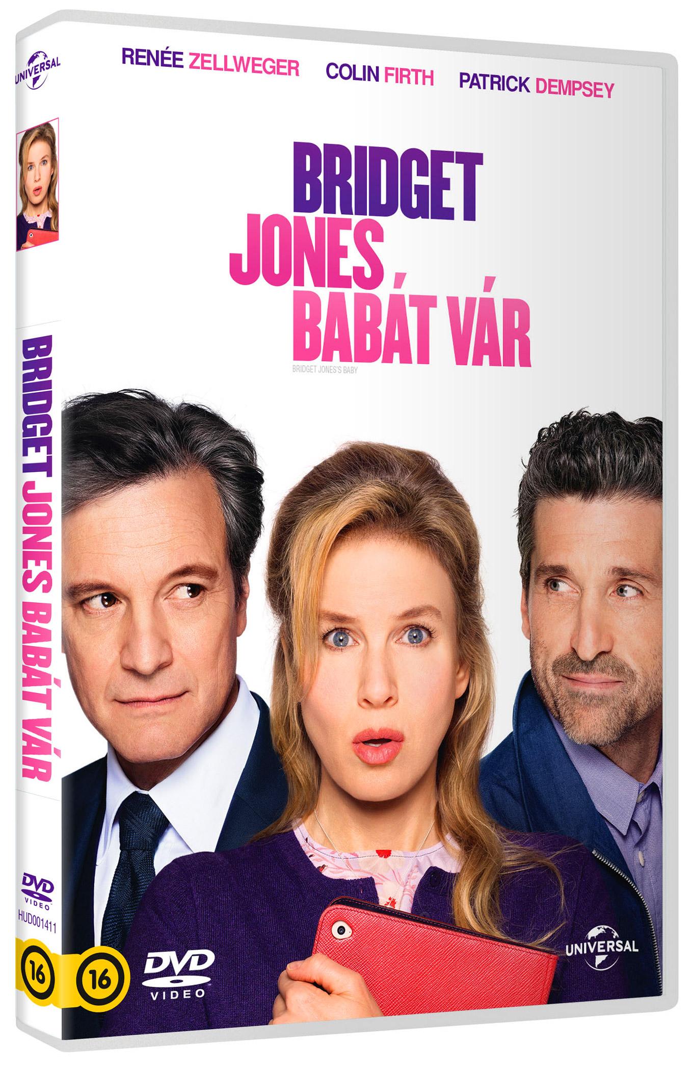 Bridget Jones babát vár DVD
