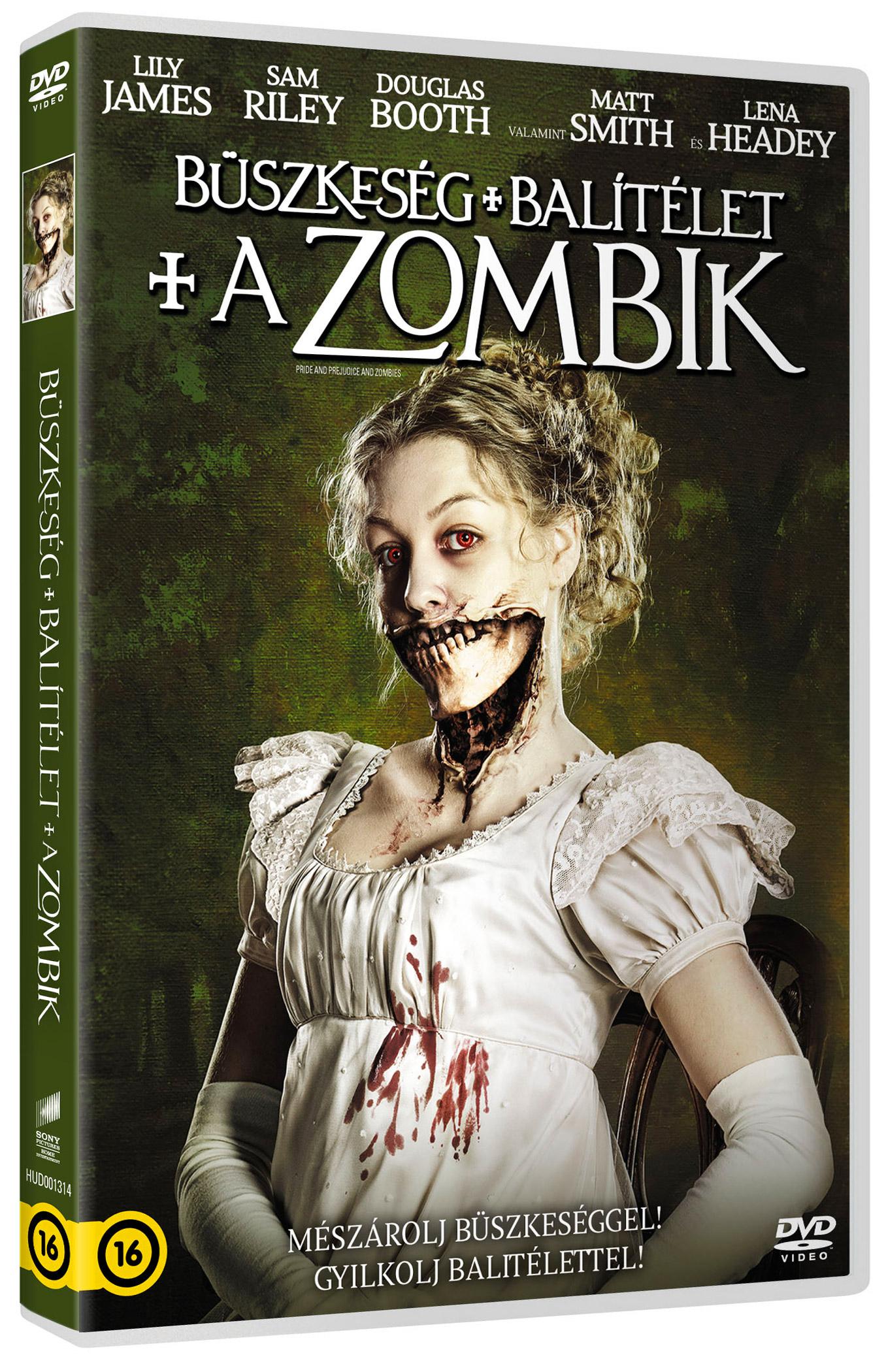 Büszkeség és balítélet meg a zombik DVD