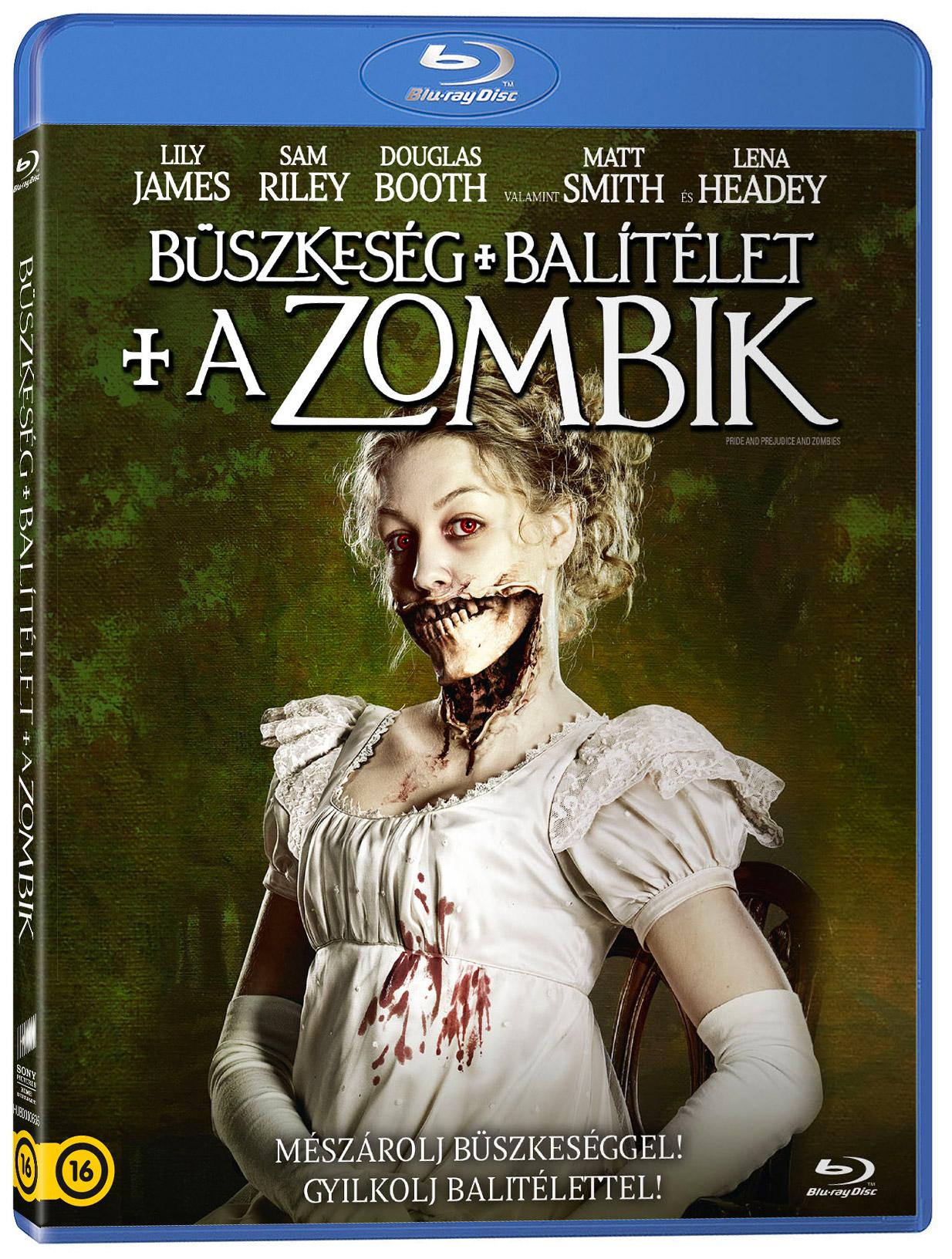 Büszkeség és balítélet meg a zombik Blu-ray