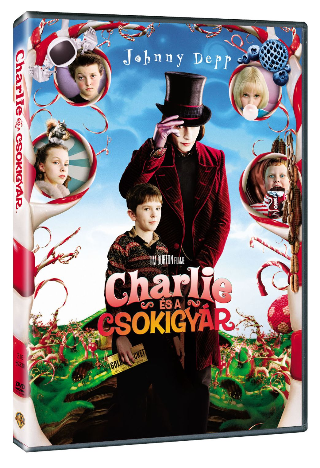 Charlie �s a csokigy�r DVD