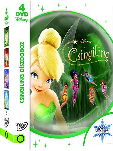 Csingiling d�szdoboz (4 DVD) - Kar�csonyi kiad�s DVD