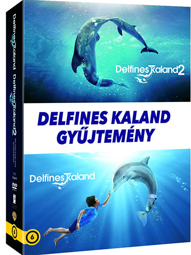 Delfines kaland DVD