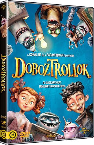 Doboztrollok DVD