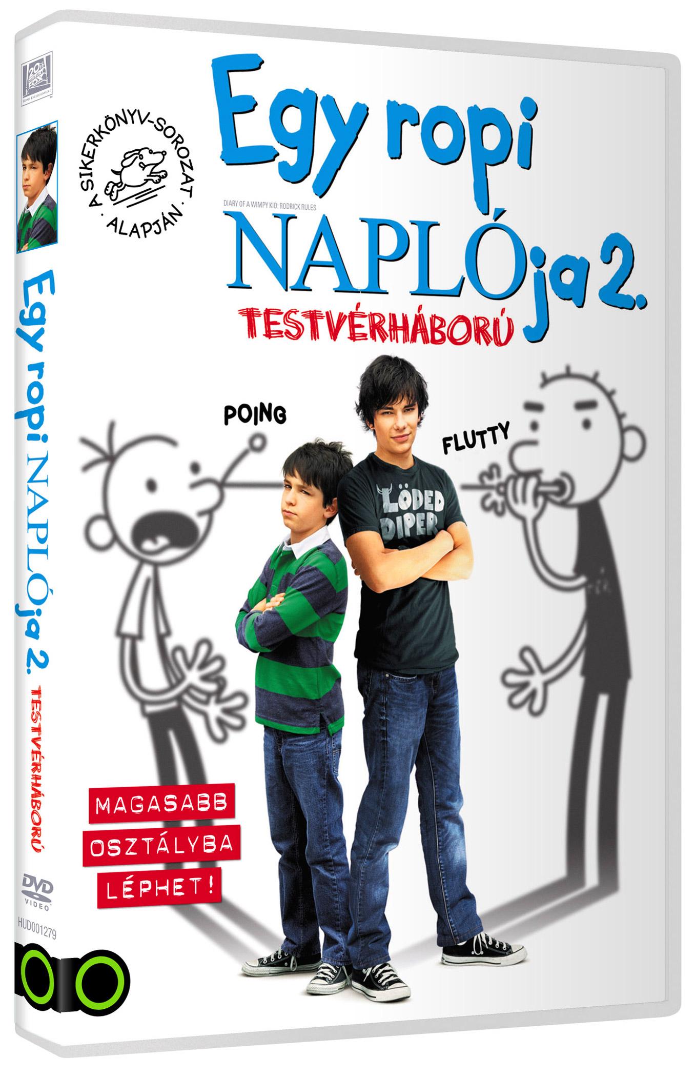 Egy ropi napl�ja 2. DVD