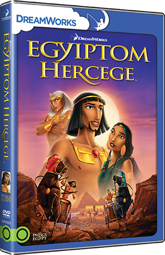 Egyiptom hercege DVD