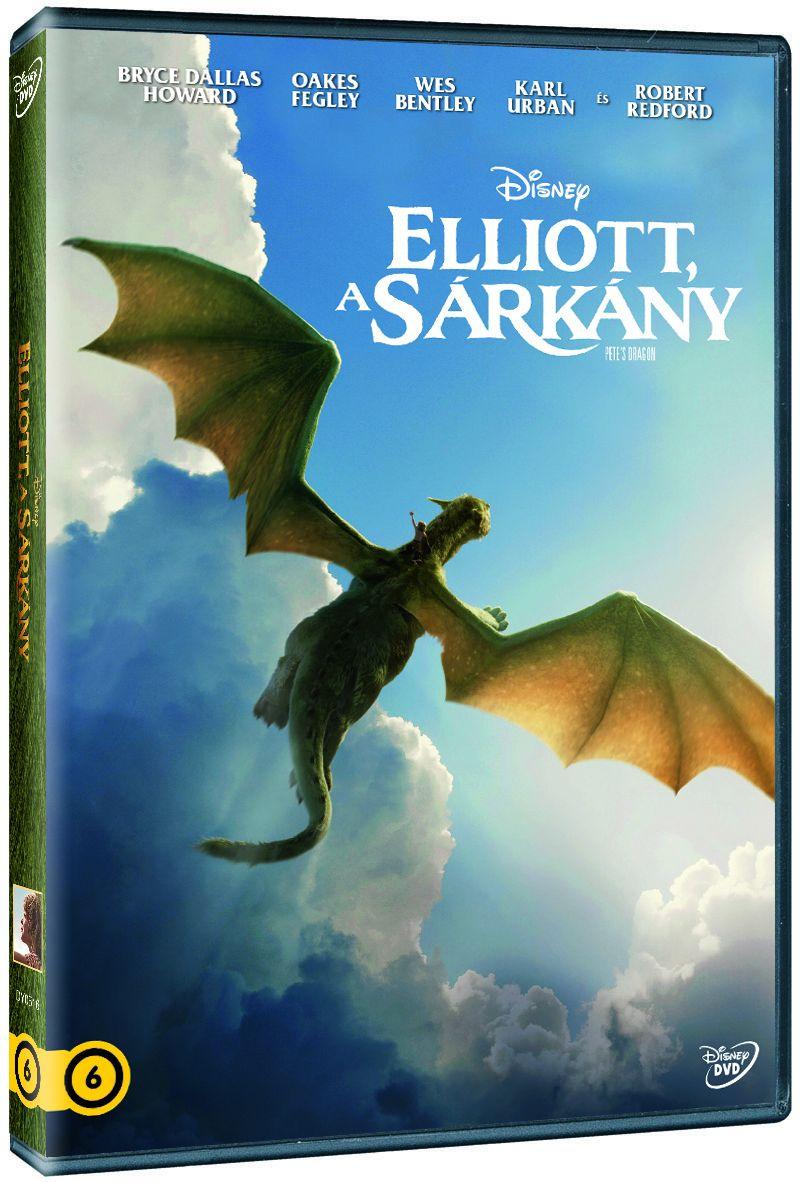 Elliott, a sárkány DVD