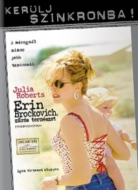 Erin Brockovich, zűrös természet - Szinkronizált változat DVD