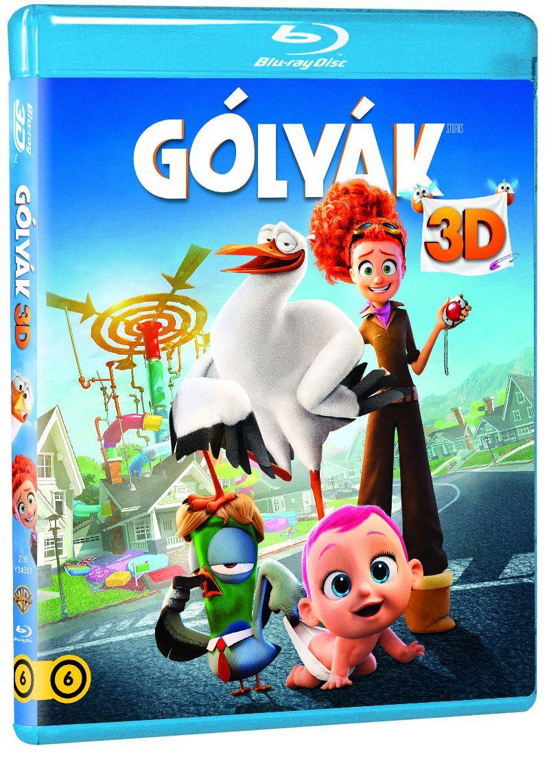 Gólyák 2D és 3D Blu-ray