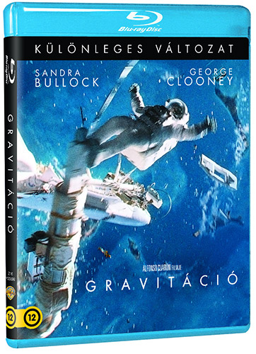 Gravitáció Blu-ray